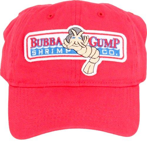 Amazon.com  Bubba Gump Shrimp Red Hat Cap  Sports   Outdoors a942680ced8e