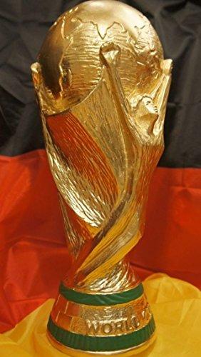 WM Pokal World Cup Pokale Deutschland 54´74´90´´14 Weltmeister 2014 Volkspokal Dekoration Deko Gold 3KG