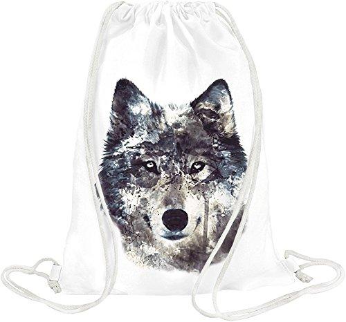 wolf-illustration-drawstring-bag