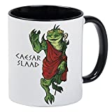 Caesar Slaad White Gaming Mug With Black Handle And Interior