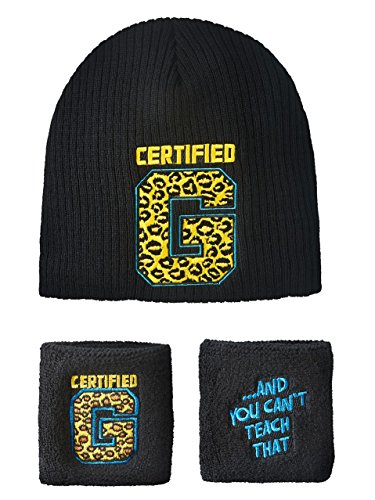 Enzo Cass Certified G WWE Authentic Knit Hat Wristband Set by WWE Authentic