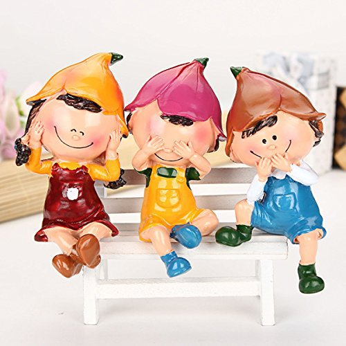 Doll Furnishing Articles Resin Crafts Home Decoration(Random: Style)