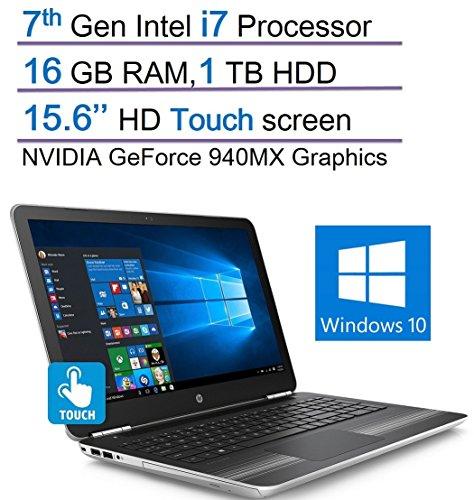 HP Pavilion Touchscreen HD 156 Laptop 7th Gen Intel