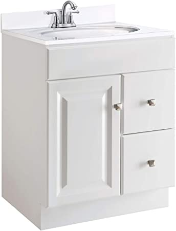 Design House 597195 Wyndham Unassembled Bathroom Vanity Cabinet Without Top White Amazon Com