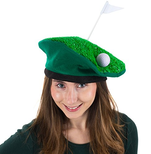 Tigerdoe Golf Party Hat - Golfer Costume - Novelty Costume Hat - Golf Party ()