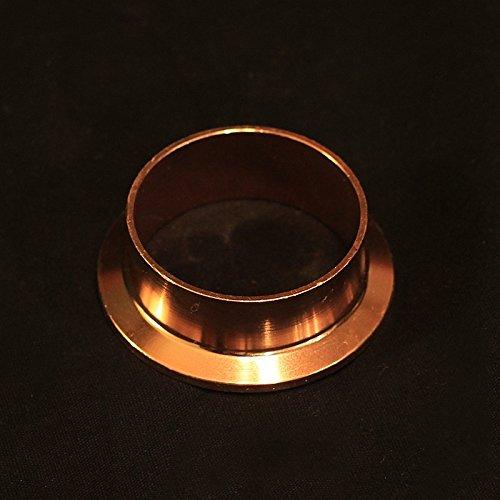 (Moonshine Distiller Copper Tri-clover (Tri-clamp) Fitting/Ferrule - 2 Inch)