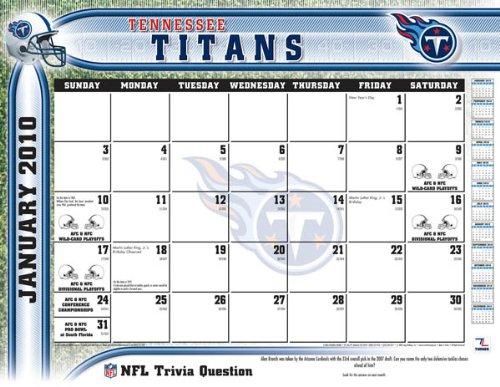 Tennessee Titans Desk Calendars Price Compare
