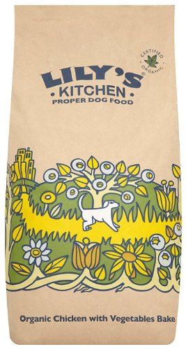 Lily S Kitchen Dry Dog Food Organic Chicken Vegetable Bake