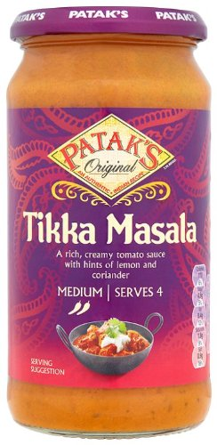 recipe: pataks tikka masala curry sauce [26]