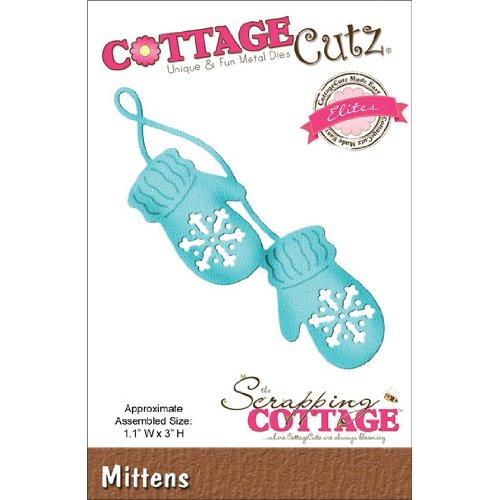 CottageCutz CCE083 Elites Die Cuts, 1.1 by 3-Inch, Mittens