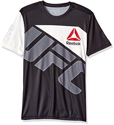 Reebok UFC Fighter Team Jersey, Medium, (Black Ufc Fighter)
