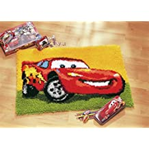 Disney's Cars 'Lightning McQueen' Rug Latch Hook Kit