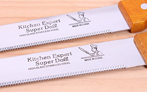 Always Your Chef 10-Inch Cake Slicer / Bread Knife(15 Inch Including Handle) by Always (Image #4)