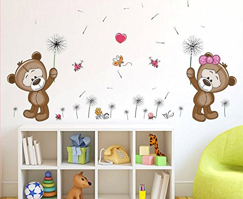 Pegatinas de osos para pared