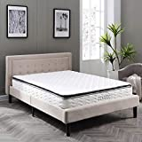 Classic Brands Serena Pillow Top Innerspring 10-Inch Mattress, Queen