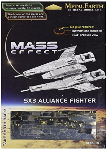 Fascinations Metal Earth Sx3 Alliance Fighter 3D Metal Model Kit