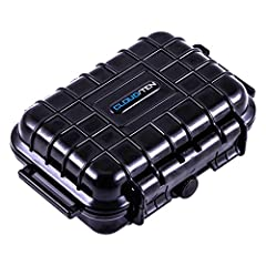 "SMOKESAFE Mini 5"" Airtight and Odor Resistant Travel Case Container        Rugged, Air-Tight, Water-Proof, Odor ResistantThis hard shell case's exterior is made of a dense composite plastic for superior external protection against blun..."