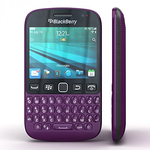BlackBerry 9720 Factory Unlocked WIFI GPS QWERTY Smartphone - BULK PACKAGING …(Purple)