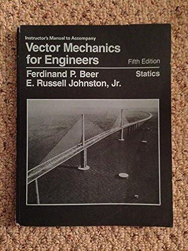 amazon com vector mechanics for engineers statics solutions rh amazon com solution manual vector mechanics for engineers statics 11th edition solution manual for vector mechanics for engineers statics