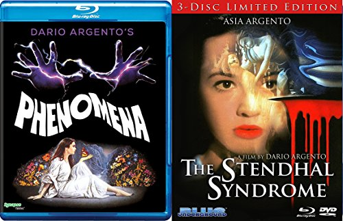 The Stendhal Syndrome Limited Edition Blu Ray & Phenomena Dario Argento's Double Feature Cult Terror Classics