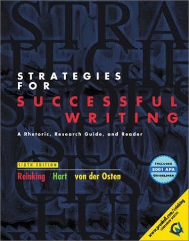 Strategies for Successful Writing, Brief with 2001 APA Guidelines (6th Edition)