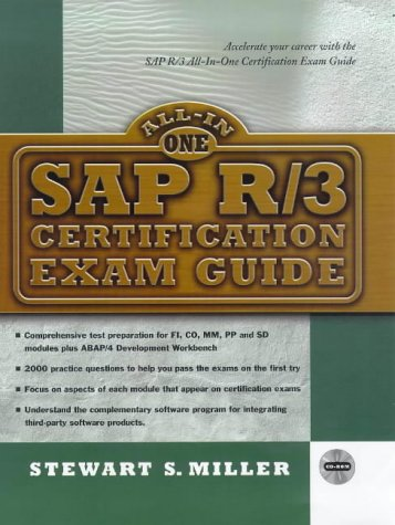 Sap R/3 Certification Exam Guide (All-in-one Certification)