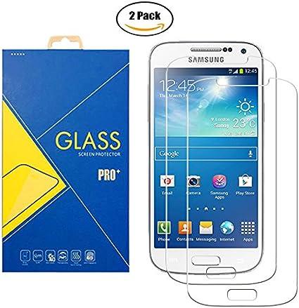 2 Pack] Protector Cristal Vidrio Templado Samsung Galaxy S4 GT ...
