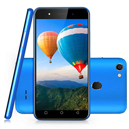 Xgody 5 Inch Android 8.1 Cellphone Unlocked Dual Rear Camera Unlocked Smartphone 8GB+1GB Celulares Desbloqueados 2G/3G Network T-Mobile/at&T/MetroPCS (Blue) (Android Phones Cell Unlocked 5)