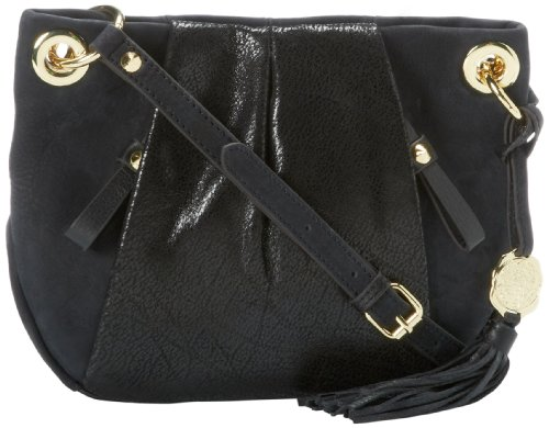 Vince Camuto Cristina Cross Body,Black Caviar,One Size, Bags Central