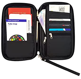 Travel Passport Wallet by Roomi, an All in One Passport Holder with RFID!
