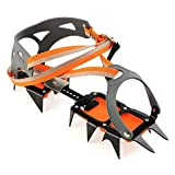 14-point Manganese Steel Crampons Ice Grippers Crampon Traction Device Mountaineering Glacier Travel Ice Walking