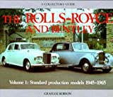 Rolls-Royce and Bentley Collector's Guide, Graham Robson, 0900549866