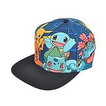 "Pokemon ""Battle Panels"" Baseball Cap"