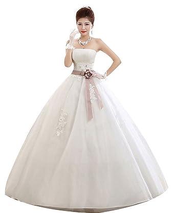 Shanghai Story Strapless Maternity Wedding Dress For Pregnant Bride ...