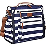 Diaper Bag Backpack by Hip Cub - Convertible W/ Cute Designer Baby Changing Pad