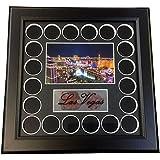 Las Vegas Night Strip Full Color 20 Chip Frame