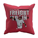 500 LEVEL's David Peralta Soft And Comfortable Throw Pillow For Arizona Baseball Fans - David Peralta Freight R