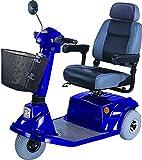 CTM - HS-570 - Mid-Range Scooter - 3-Wheel - Blue