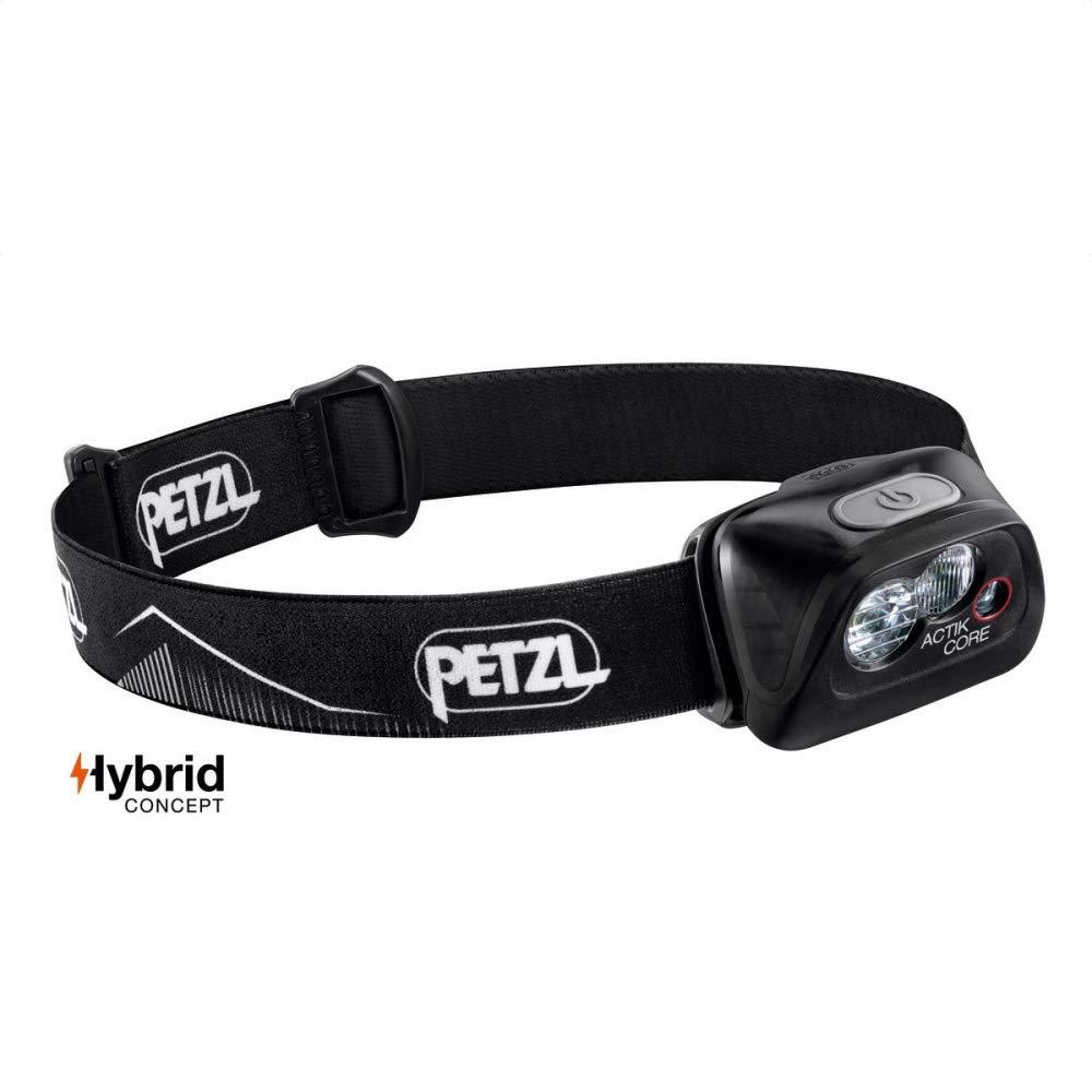 PETZL – ACTIK CORE Headlamp, 450 Lumens, Rechargeable, with CORE Battery