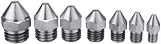 Anddod Metric Tooth Stainless Steel Straight Nozzle for 3D Printer Part - M20*2