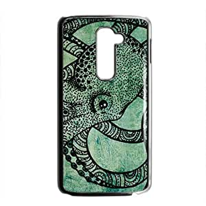 The Octopus Black Phone Case for LG G2