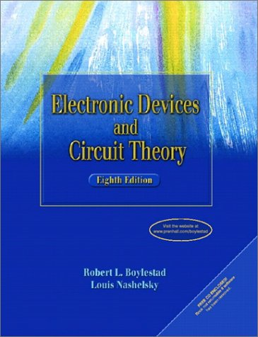 Electronic Devices and Circuit Theory (8th