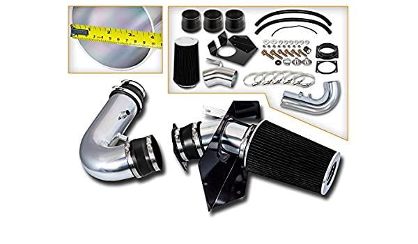 RAM AIR INTAKE KIT DRY FILTER FOR 97-03 FORD F150 Expedition 4.6L 5.4L V8