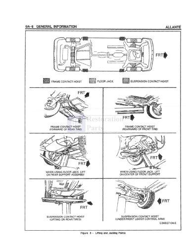 allante wiring diagram bishko automotive literature 1991 1992 cadillac allante ... ford 900 wiring diagram