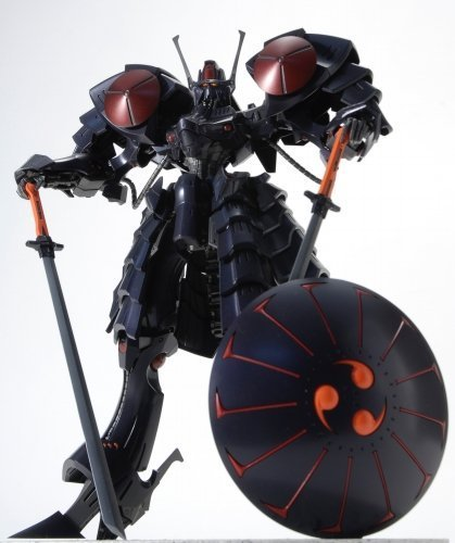 1/100 ファイブスター物語 黒騎士 バッシュザブラックナイト プラモデル B003LEOYYA