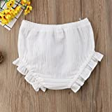 Mornbaby Baby Girl's Bloomers Cotton Ruffle Panty