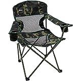 Cadeira Dobrável Nautika Camping Pesca Fresno + Bolsa Camuflada