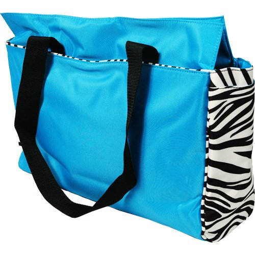 Office Tote - (Front Pocket Tall Tote Handbag)