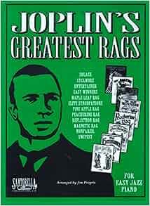 Joplin's Greatest Rags for Easy Jazz Piano: Scott Joplin