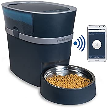 PetSafe Smart Feed Automatic Dog and Cat Feeder, Smartphone, 24-Cups, Wi-Fi Enabled App for iPhone and Android